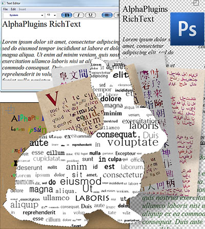 AlphaPlugins RichText plug-in