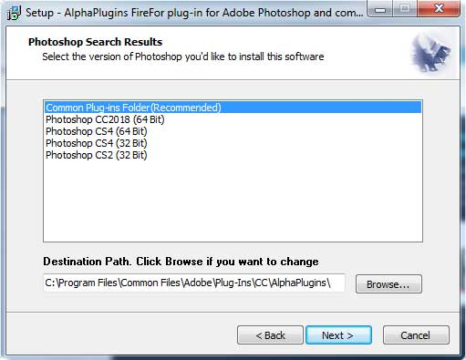 Install Fire4 plug-in
