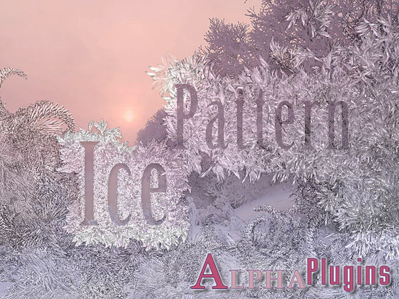 IcePattern plug-in for Photoshop