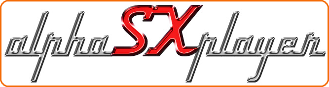 alphaSXplayer logo