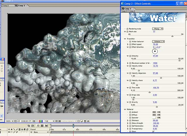 Windows 7 Water for After Effects 1.03 full